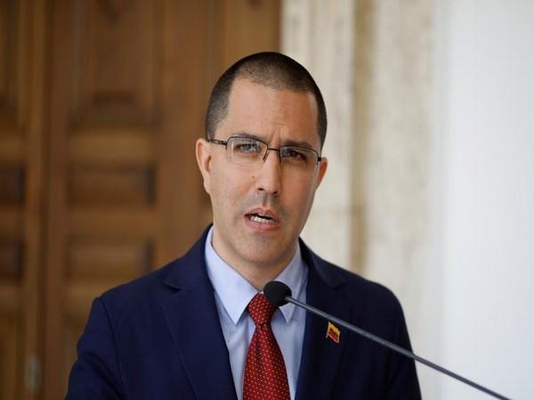 Venezuelan Foreign Minister Jorge Arreaza (file pic)