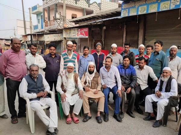 Residents of Delhi's East Kamal Vihar, a sub-locality of Karawal Nagar.