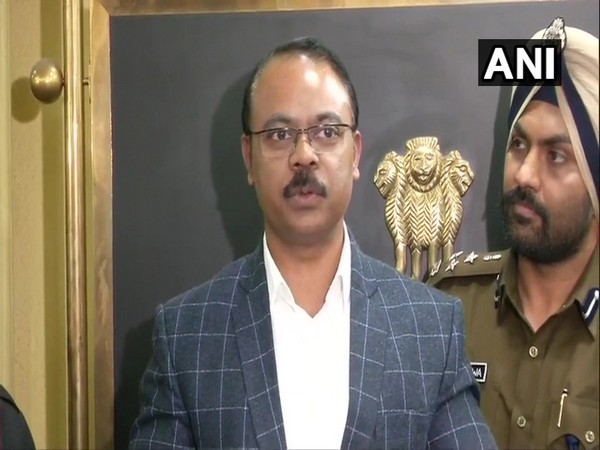 SIT chief DCP Joy Tirkey speaking at a press conference in New Delhi on Friday. Photo/ANI