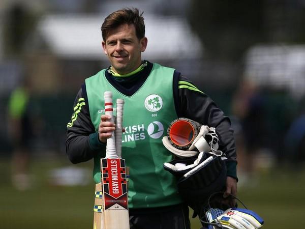 Ireland women's team coach Ed Joyce