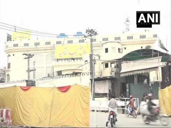 Headquarters of banned Jamaat-ud-Dawa and Falah-e-Insaniat in Lahore, Pakistan