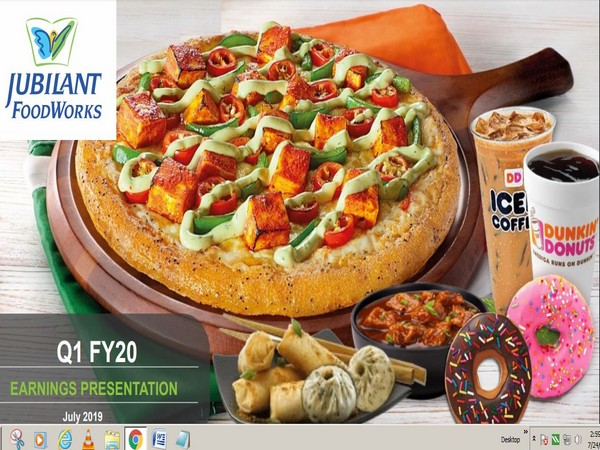 Jubilant FoodWorks has a network of 1,249 Domino's Pizza restaurants across 276 cities