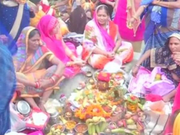 Celebrating Jiyutiya festival (Photo/ANI)