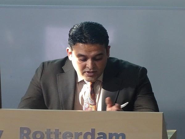 Junaid Qureshi, director of European Foundation of South Asian Studies