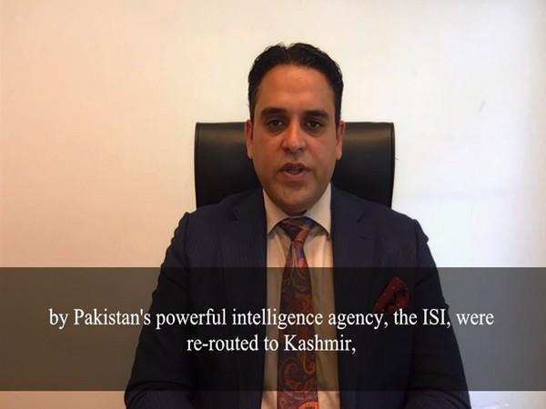 Director of EFSAS, Junaid Qureshi. (ANI)