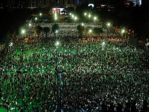 Annual June 4 vigil for victims of the 1989 Tiananmen Square incident. (Photo Credit - Reuters)