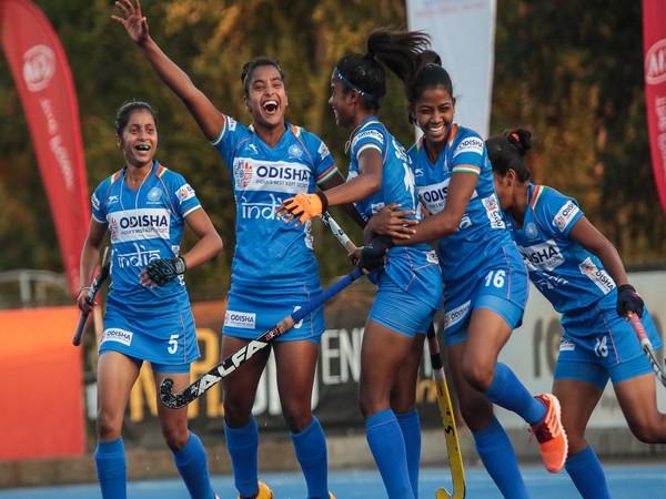 Indian junior women's hockey team players (Photo/ Hockey India)