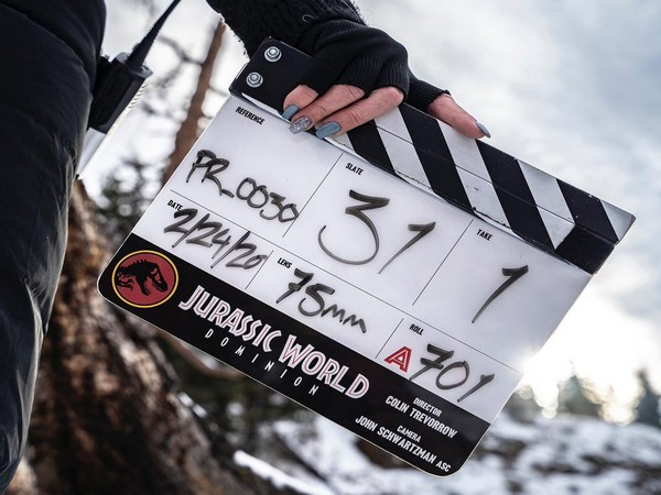 Filmmaker Colin Trevorrow revealed the title of the much-anticipated sequel to the famous 'Jurassic Park' franchise as 'Jurassic World: Dominion'. (Image courtesy: Twitter )