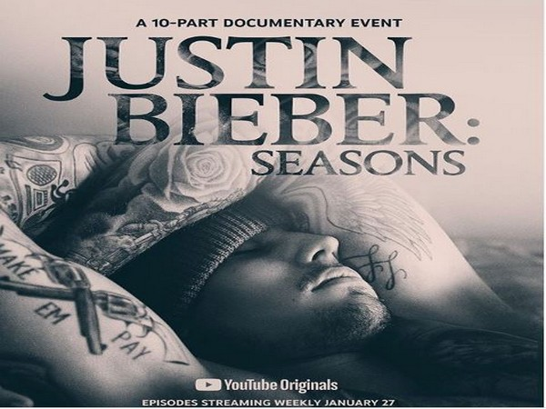 The cover of Justin Bieber: Seasons, a documentary series chronicling the making of Bieber's first album in four years. (Picture credit: Justin Bieber Instagram)