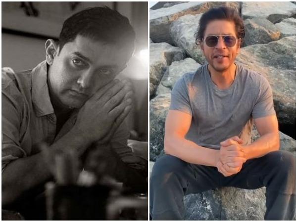 Aamir Khan, Shah Rukh Khan (Image courtesy: Twitter)