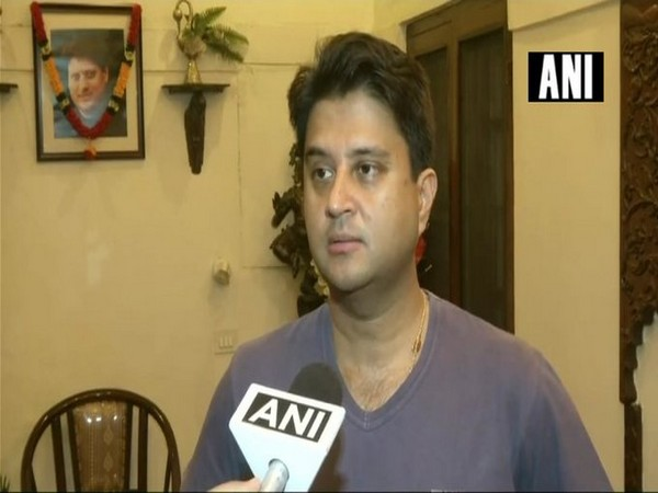 Congress leader Jyotiraditya Scindia (File photo)