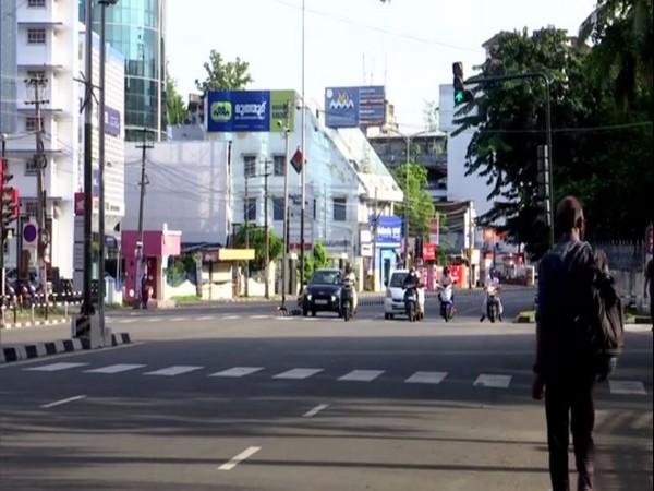 Deserted streets in Thiruvananthapuram, Kerala during Sunday lockdown. (Photo/ANI)