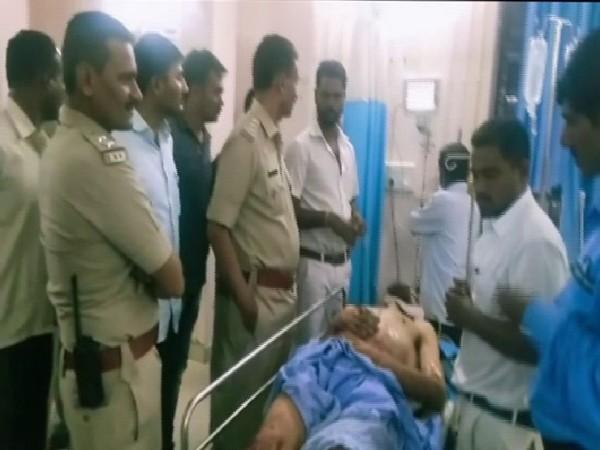 An Australian national was thrashed by villagers in Konkanakoppa. Photo/ANI