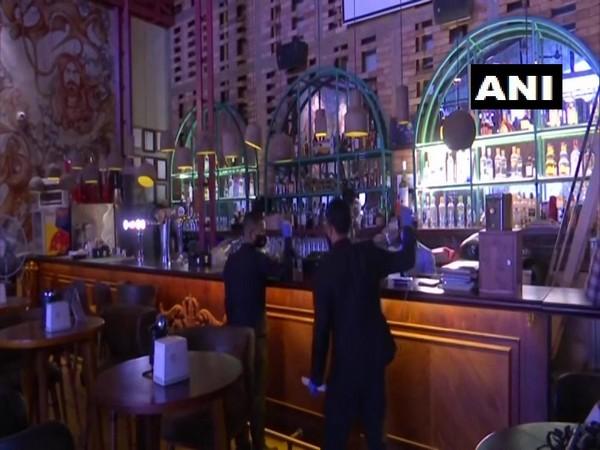 Pubs and restaurants in Bengaluru, Karnataka, have started serving liquor. (Photo/ANI)