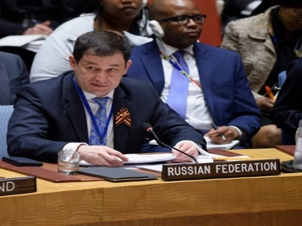 Russia's Deputy Permanent Representative to the United Nations Dmitry Polyanskiy (Picture Credits: Twitter)