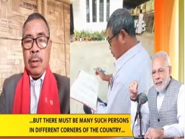 Prime Minister Narendra Modi lauded the efforts of Sikari Tissau who is on a life-long mission to document the Karbi language.
