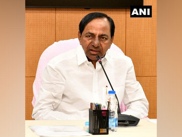 Telangana Chief Minister K Chandrashekar Rao. File photo/ANI