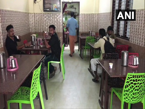 Hotels and restaurants resume services in Kottayam. (Photo/ANI)