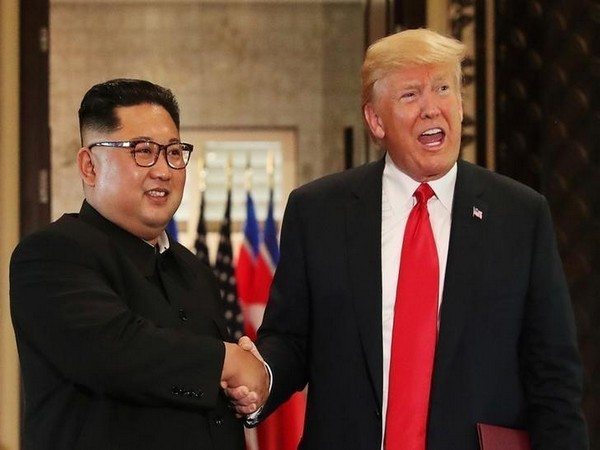 North Korean leader Kim Jong-un along with US President Donald Trump (File Photo)