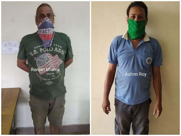Arrested accused Ashim Ray and Rajan Mishra (Photo/NCB)
