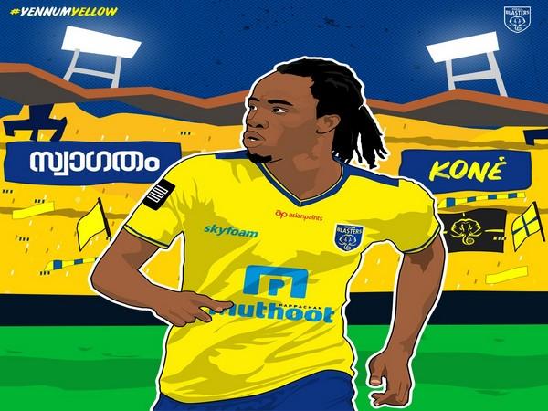 Defender Bakary Kone (Photo/ Kerala Blasters FC Twitter)
