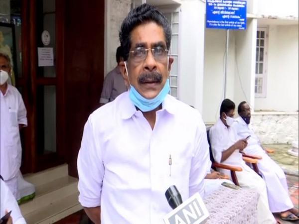 Kerala Pradesh Congress Committee (KPCC) president Mullapally Ramachandran speaking to ANI on Monday. (Photo/ANI)