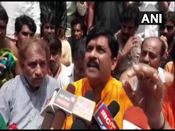 BJP MP Krishnapal Yadav (file photo)