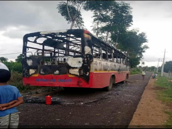 KSRTC buses targeted after DK Shivakumar's arrest by Enforcement Directorate