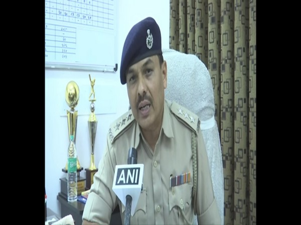 Deputy Superintendent of Police KT Kamaria talking to ANI in Ahmedabad on Wednesday. Photo/ANI