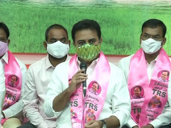 Telangana Rashtra Samiti (TRS) working president KT Rama Rao. (File Photo)