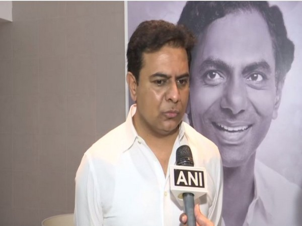 TRS leader, K.T. Rama Rao (Photo ANI)