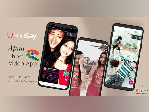YouSay Short Video App From KTree