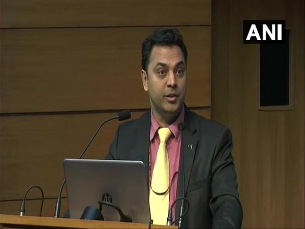 Chief Economic Advisor KV Subramanian addressing a press conference on Friday in New Delhi.