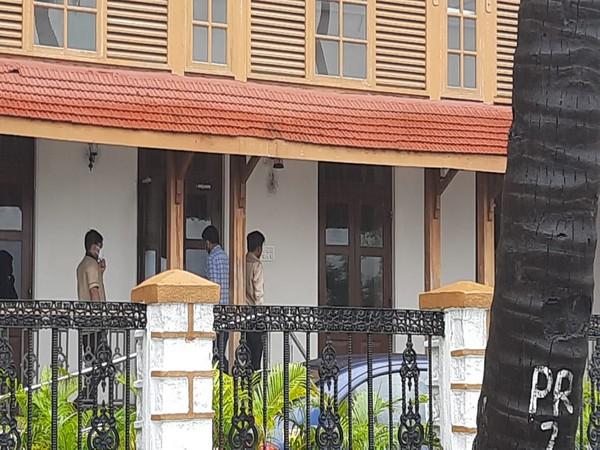 KWAN agency CEO Dhruv Chitgoperkar arrives at NCB office in Mumbai on Wednesday. Photo/ANI