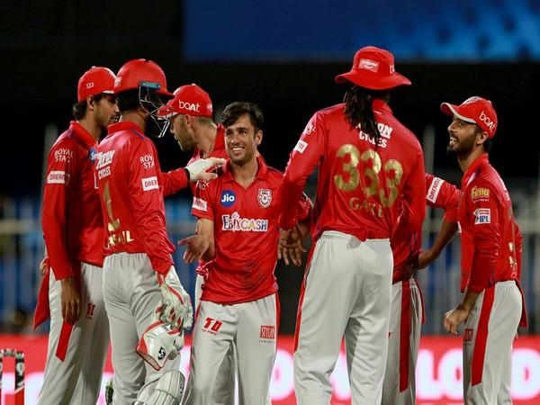 Kings XI Punjab players celebrating after taking a wicket (Photo: BCCI/ IPL)