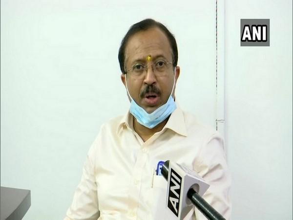 Minister of State for External Affairs V. Muraleedharan