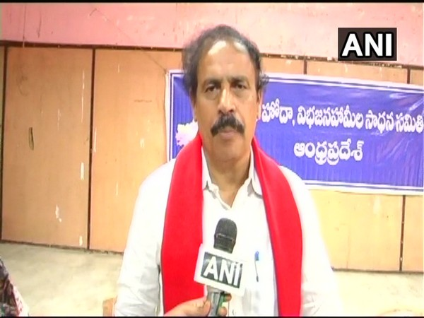 Andhra Pradesh CPI secretary, K Ramakrishna (Photo/ANI)