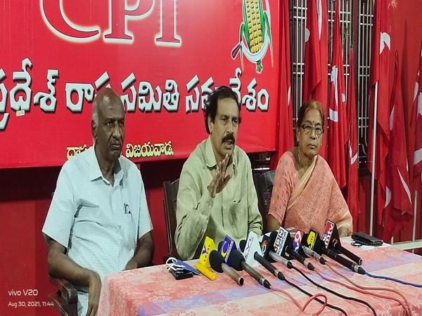 AP CPI Secretary K Ramakrishnan (Photo/ANI)