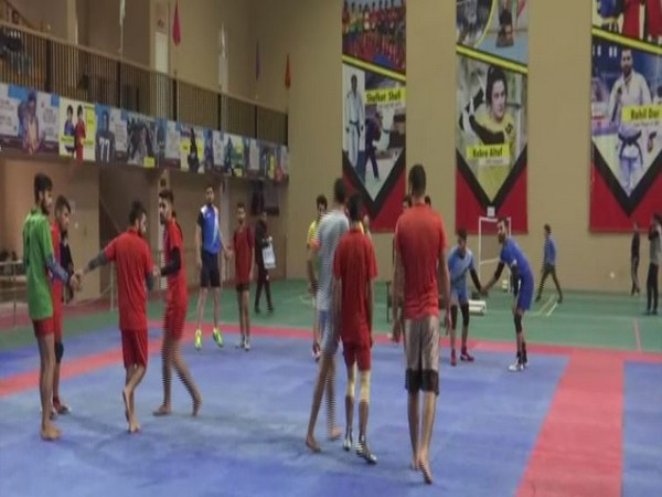 A visual from Indoor Sports Hall Srinagar. (Photo/ANI)