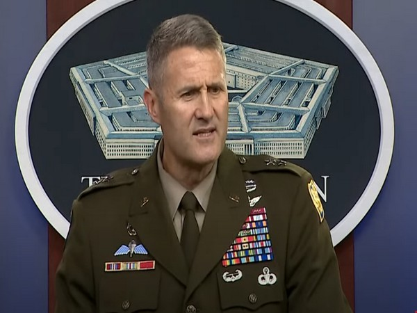 Pentagon spokesperson Maj. Gen. Hank Taylor during a briefing on Saturday.