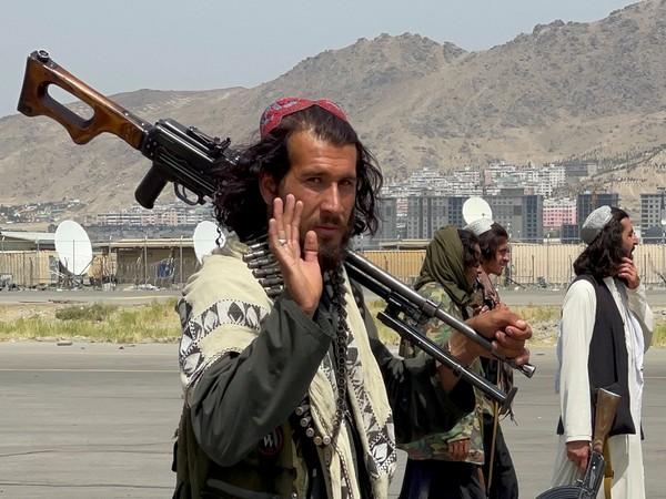 Taliban at the tarmac of Kabul airport. (Photo Credit - Reuters)