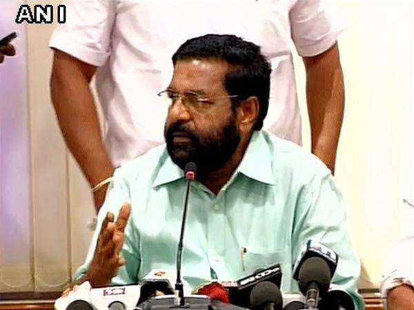 Kerala minister Kadakampally Surendran (File photo/ANI)