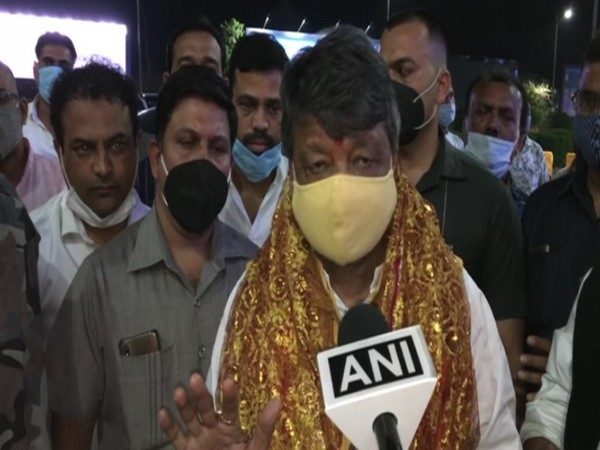 BJP leader Kailash Vijayvargiya speaking to ANI on Thursday.
