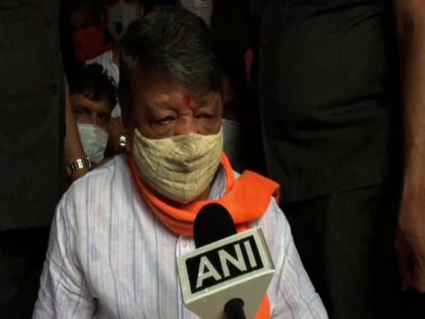 BJP leader Kailash Vijayvargiya speaking to ANI in Indore on Friday. Photo/ANI