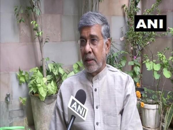 Nobel Laureate Kailash Satyarthi. Photo/ANI