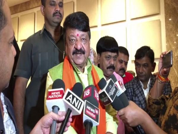BJP national general secretary Kailash Vijayvargiya (file photo)