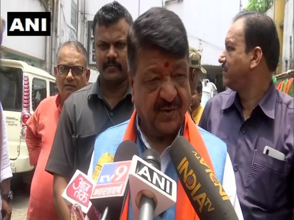 Kailash Vijayvargiya, BJP National General Secretary speaking to ANI