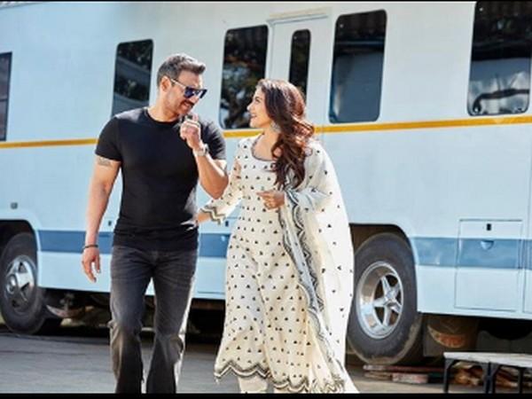 Celebrity couple Ajay Devgn and Kajol (Image Source: Instagram)