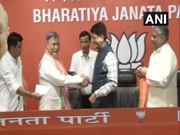 Bhubaneshwar Kalita joined BJP on Friday in presence of Union Minister Piyush Goyal.