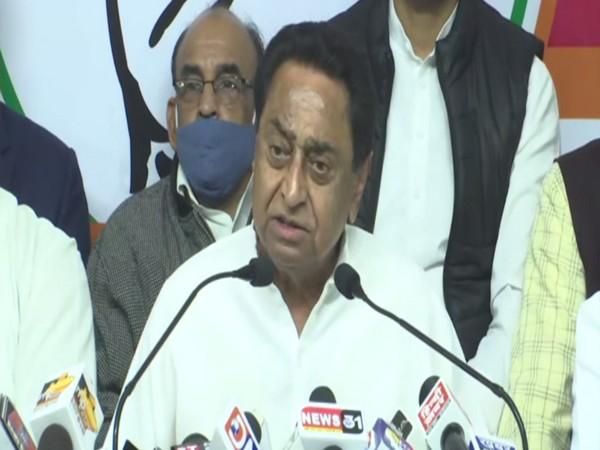 Former Chief Minister of Madhya Pradesh Kamal Nath. (File Photo/ANI)